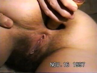 Another perfect pussy plunging solo scene from Nataly Von guys, and here she is masturbating outside Thumb