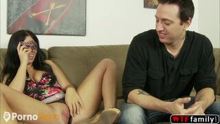 Chachita Maria Bellucci satisfies dudes sexual desires and then gets drenched in cum Thumb