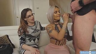 Watch this weeks dirty bitchfight where gymnast Cristal and Russian Aleksa Diamond compete to decide Thumb