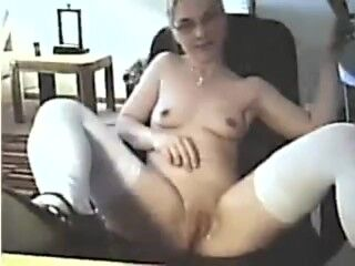 Samantha Bentley from the UK, is in Sexy Schoolgirl Mode with her double ponytails, white blouse, bl Thumb