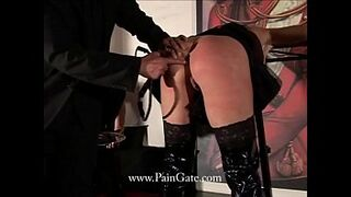 Diamond Ass:  vulnerable model is butt and puss whipped, with speculum and nip clothespins Thumb