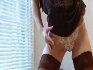 An oversexed couple from Romania in a hot amateur porn video Thumb