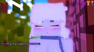 Allie x Metal Golem (18  Minecraft Animation) (ORIGINAL) By SlipperyT Thumb