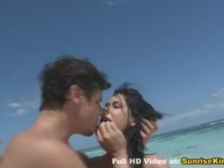 Bathing Suit honey banged on the beach rock-hard Thumb