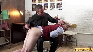 Blonde sweetie Brynn Tyler had her soft hands Thumb
