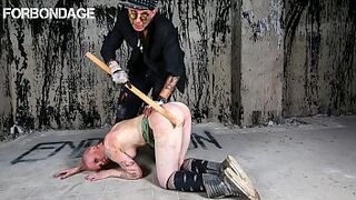 FORBONDAGE - German Nubile Gets Caught By Bondage & Discipline Tormentor And Penalized Decently Thumb