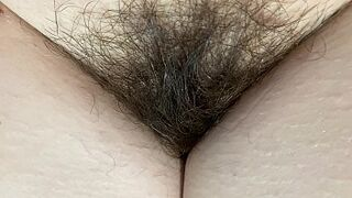 extraordinary close up on my unshaved snatch enormous thicket 4k HD vid fur covered fetish Thumb