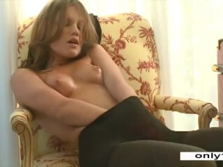 Hot lady Brunette in stockings (vm) Thumb