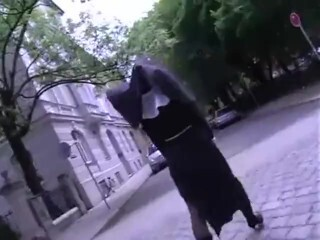 Sloppy nun Annette urinated on Thumb