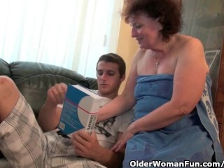 Why are you massaging my fuckpole grandma? Thumb