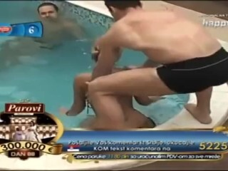 Reality Mexican Phat Brutha - Filthy dance lovemaking simulation publicly in pool Thumb