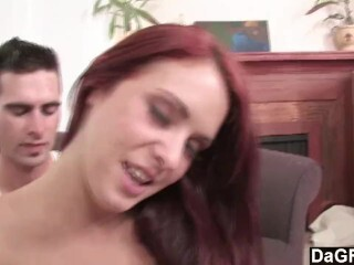 Dagfs - Stunner Gets Ravaged on the Bed Thumb