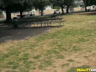 Reality Kings - Teenage gets picked up in the park Thumb
