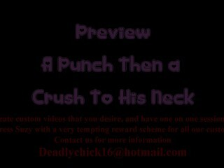 PREVIEW: A Crush Then a Kick To His Neck Thumb