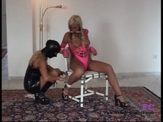 Fetisch-Concept.com: - Restrain Bondage meeting for 2 chicks with nip Thumb