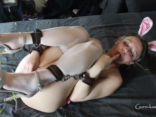 LN´s#27a: Wild Easter bunny - Cuffed, caned and fucked! Thumb