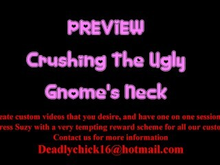 PREVIEW: Punching The Gross Gnome's Neck Thumb