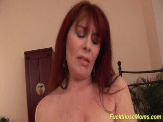 ginger-haired stepmother need a intense boner Thumb