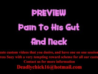 PREVIEW: Ache To His Gut And Neck Thumb