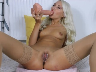 9 unloads Cream Colored fuckbox plowing Widely Opened poon (Helena Moeller) Thumb