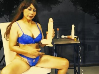 6-movies.com - My climax face with good-sized fake penis and electro-hitachi Thumb