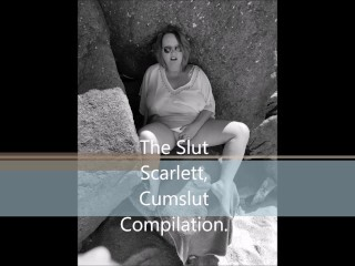 The Hoe Scarlett Cumslut compilation. Thumb