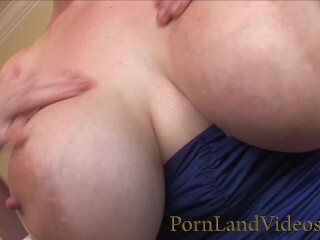 Warm Platinum-blonde with Large All-natural Tits Nutting on Big Black Cock Thumb