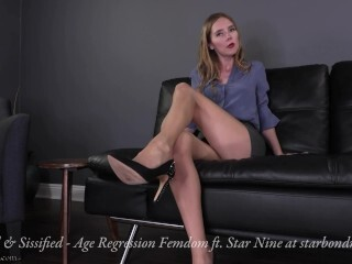 Regressed & Sissified - Age Regression Stockings Dominance Female Dominance TRAILER Thumb