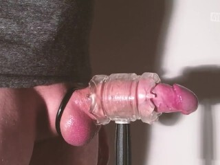 Nailing my Fleshlight Quickshot concludes in 2 meaty cumshots. Thumb