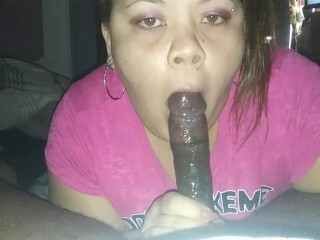 Sloppy.. Deepthroat.. Gagging.. Ball Sack deep.. Thumb