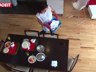 LETSDOEIT - Latino Boy Is The Greatest At Seducing And Boinking Cleaning Maid Thumb