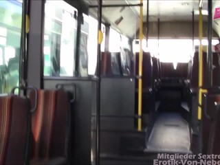 Sexorgie im Bus - true thin fucksluts plowed in groupsex fuckfest in public bus Thumb