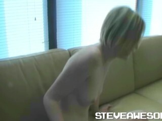 Midwest Bombshell Trisha Bare Dancing Bride In My Cheap Culo Room Thumb