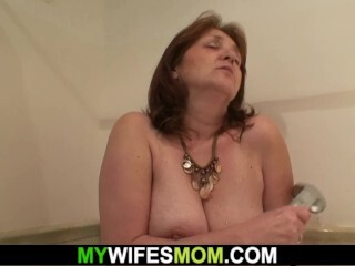 He doggy-fucks yam-sized mounds mother-in-law Thumb
