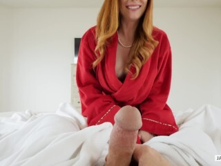 Super-naughty Redheaded Step Mommy Dani Jensen Entices Her Step Stepson Thumb