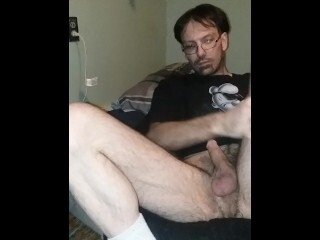 Hottest Solo Masculine masturbation. Scorching mature tatted fellow with monstrous dick. Thumb