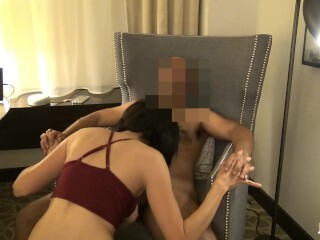 Torrid Noisy Cuckold Latina Cougar Comes Back For More Thumb