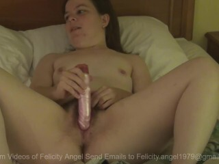 Felicity Angel Faps With Electro-hitachi Thumb