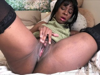 DP Fingerblasting Cunny n Backdoor - dark-hued gash n ass fucking frigging Thumb