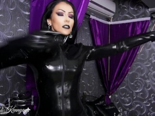 Domina Kennya: Obsessed with love glove Thumb