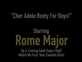 Dark-hued Porn! Big Black Cock Rome Major Plows Good-sized Butt Cher Adele! Thumb