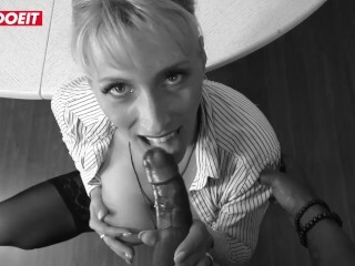 LETSDOEIT - Huge-titted Assistant Needs A Big Black Cock After The Divorce Thumb