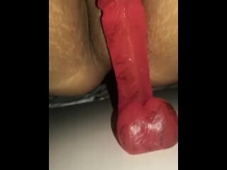 Latina cougar gets dribbling moist Thumb