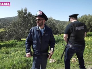 SUGARBABESTV : GREEK POLICE Thumb