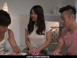 Intense three way hook-up episodes with insatiable Saki Sudou - More at javhd.net Thumb